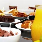 Café da manhã - Hotel Lux - Porto União