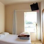 Quarto com televisão - Hotel Lux - Porto União